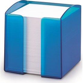 Durable Trend Kubusblokholder, transparent blå