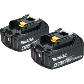 Makita Batteri, akku BL1840B, 4,0Ah, 2 stk.