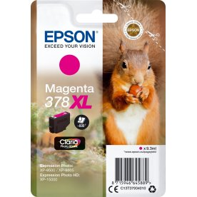 Epson T378 XL blækpaton, magenta