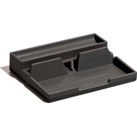 Durable Desk Organizer Opbevaringsskuffe, grå