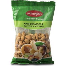 Silkevejen Cashew Nødder, saltede/ristede, 200 g