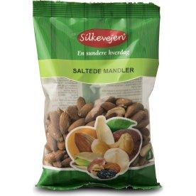 Silkevejen Mandler, saltede/ristede, 200 g