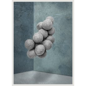 Plakattryk Blue Room II, 50x70