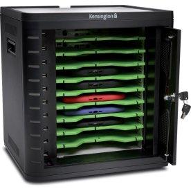 Kensington Charge&Sync låseskab til tablets, sort
