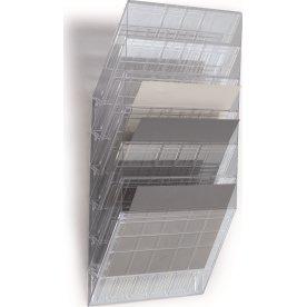 Flexiboxx blanketholder 6 fag vandret, transparent