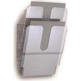Durable Flexiplus Brochurestativ 2 A4 høj, transp.