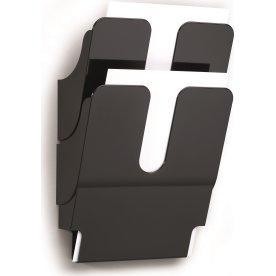 Durable Flexiplus Brochurestativ 2 A4 høj, sort