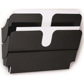 Durable Flexiplus Brochurestativ 2 A4 tvær, sort