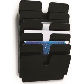 Durable Flexiplus Brochurestativ 6 A4 tvær, sort