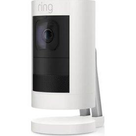 Ring Stick Up trådløs overvågningskamera, hvid