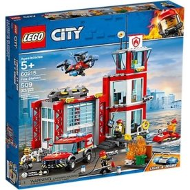 Lego City 60215 Brandstation 5-12 år
