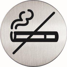 Durable Skilt Rundt Rygning forbudt