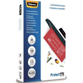 Fellowes Protect 175 mic lamineringslommer, gloss
