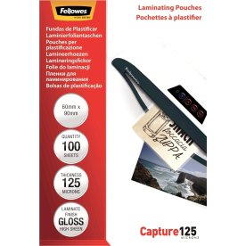 Fellowes Capture 125 mic 60x90mm lamineringslomme