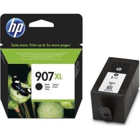 HP no.907XL/T6M19AE blæk, blister, sort, 1.500s