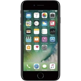 Brugt Apple iPhone 7, 256GB, Sort, (B)