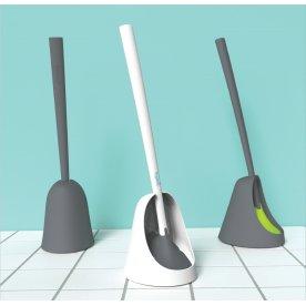 Sanimaid Oslo Toiletbørste med gulvholder, grå