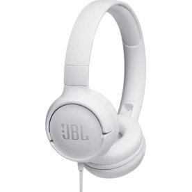 JBL Tune 500 on-ear hovedtelefoner i hvid