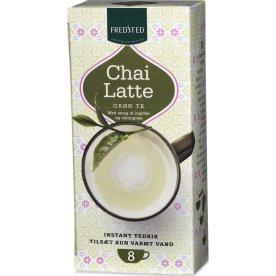 Fredsted Chai Latte grøn instant te, 10 sticks