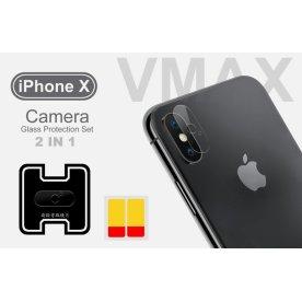 VMax 2.5D kamerabeskyttelse til iPhone X/Xs/Xs Max