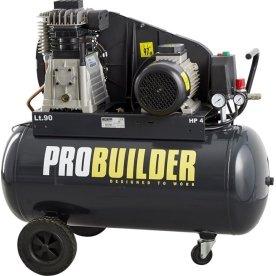 Kompressor, 90 liter, 4 hk