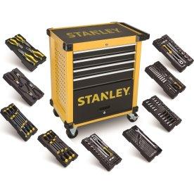 Stanley værkstedsvogn inkl. 168 dele værktøj