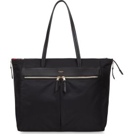 "Knomo Grosvenor Place Tote computertaske 15"", sort"