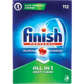 Finish Powerball All-in-One, 112 tabs