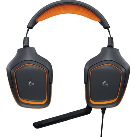 Logitech G231 Prodigy headset, Sort/Orange