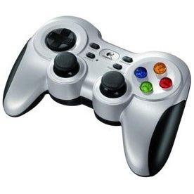 Logitech F710 trådløs joystick, grå