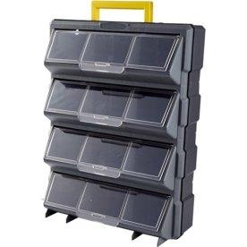 Probuilder transportabel organizer, 12 skuffer