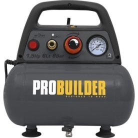 Probuilder oliefri kompressor, 6L, 1.5hk