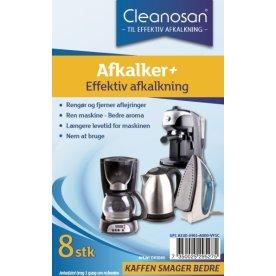 Cleanosan Afkalker til kaffemaskine, 8 tabs