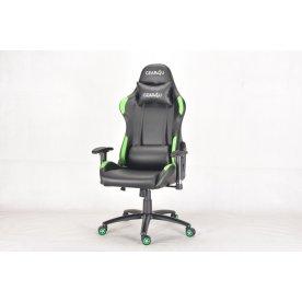 Gear4U Elite Pro gamerstol, sort/grøn