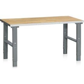 Arbejdsbord 500 kg, Egeparket, 1600x800 mm