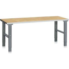 Arbejdsbord 500 kg, Egeparket, 2000x800 mm