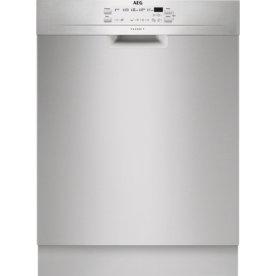 AEG FFB52610ZM Indbygningsopvaskemaskine, stål