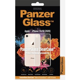 Panzerglass ClearCase cover til iPhone 7/8