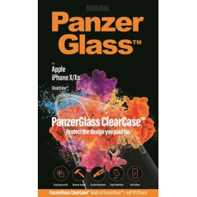 Panzerglass ClearCase cover til iPhone X/Xs