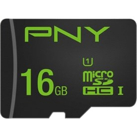 Micro SDHC High Performance 16GB Class10 m/adapter
