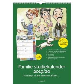 Mayland Familie skoleårskalender med stickers