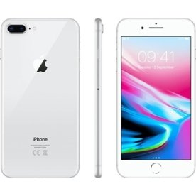 Apple iPhone 8 Plus, 64GB, sølv