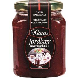 Klaras Jordbær Marmelade, 400 g
