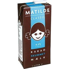 Matilde Kakaoskummetmælk, 1 ltr.