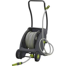 Grouw slangevogn m/ 30 m 1/2'' slange og pedal
