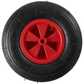 Grouw trillebørhjul t/ 80041030, 13'', sort
