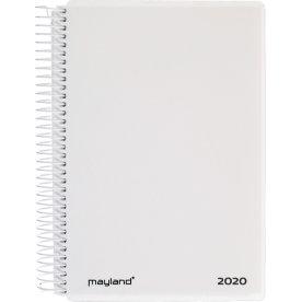 Mayland Spiralkalender, dag, hvid