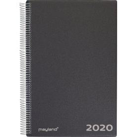 Mayland A4 Aftalekalender 2020, dag, sort