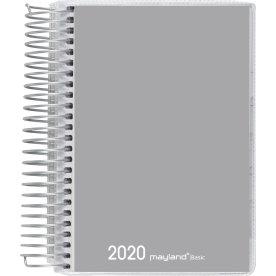 Mayland Basic spiralkalender, dag, grå