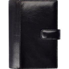 Mayland System Mini uge, tværformat, sort skind